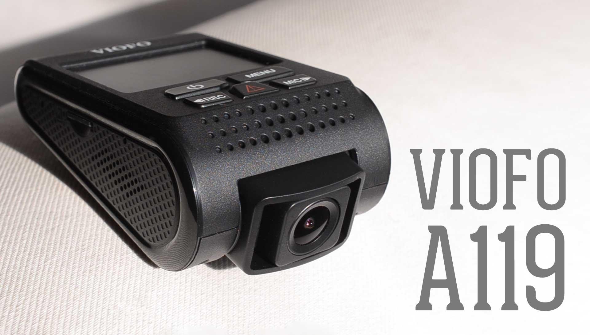 viofo a119s / a119 – מצלמת דרך איכותית ומשתלמת