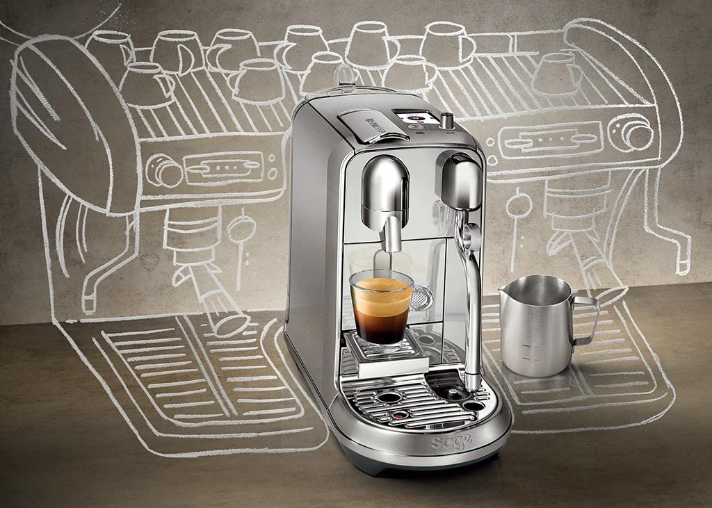מכונת אספרסו Nespresso Creatista נספרסו