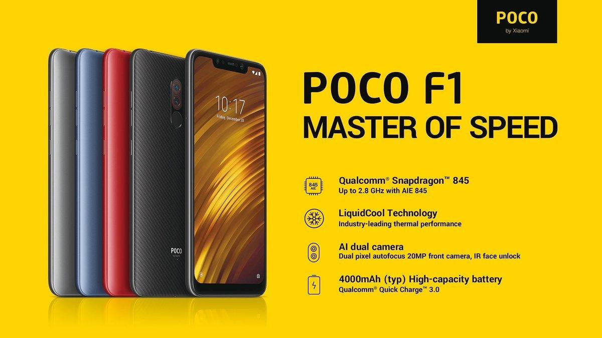 Pocophone F1 – הטלפון החכם המדובר של השנה!