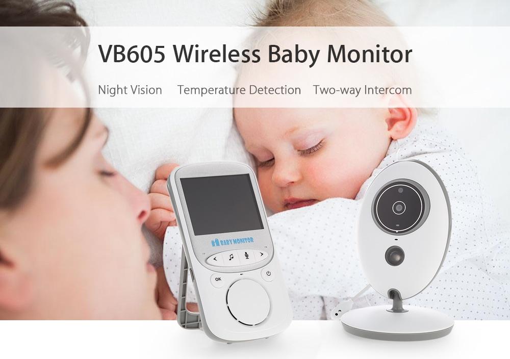 מוניטור אלחוטי לתינוק – VB605
