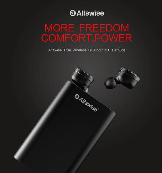 Alfawise TWS –  אוזניות אלחוטיות טובות במחיר מצויין