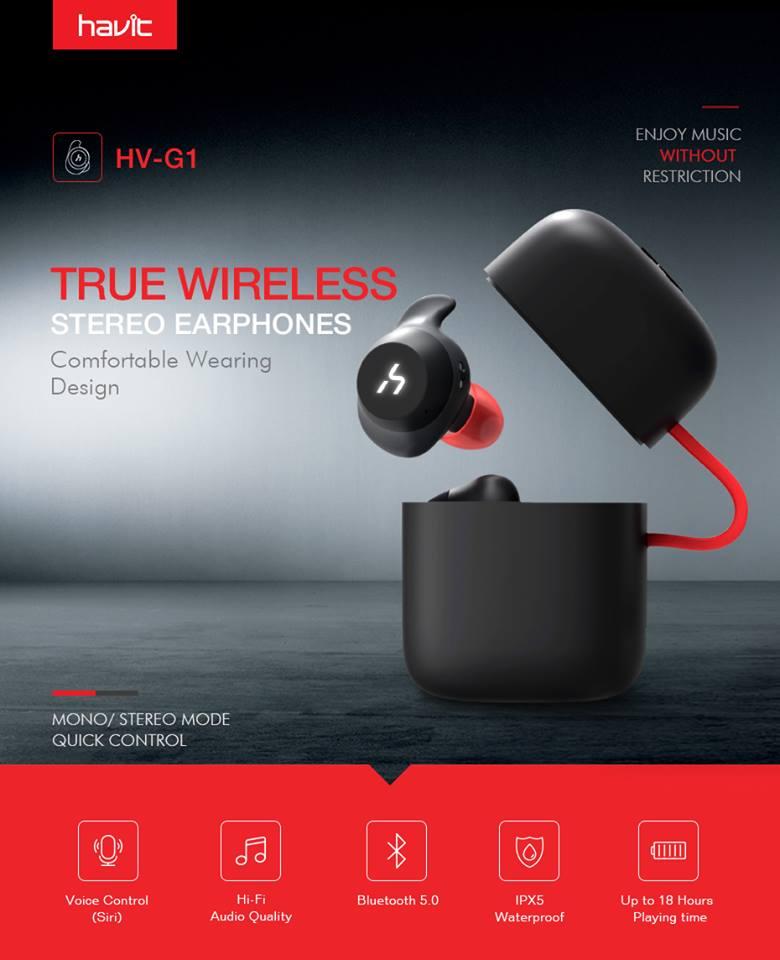 HAVIT G1 – אוזניות ה TWS הטובות ביותר לספורט בתקציב!