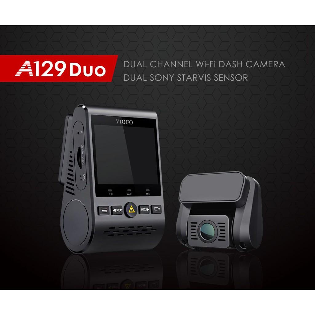 מצלמת הרכב הכפולה מהמובילות בשוק, הViofo A129 Duo!