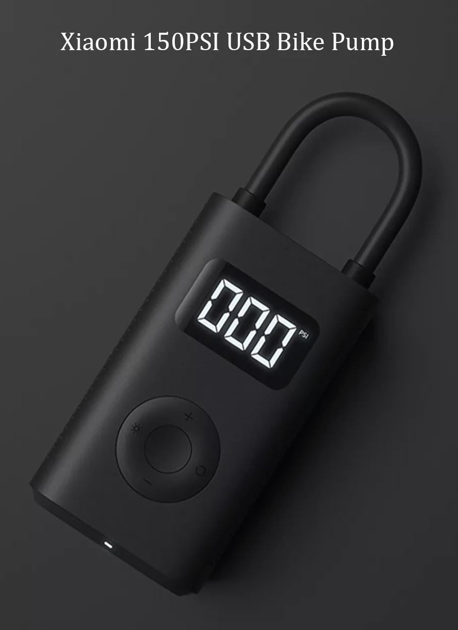 המשאבה האלחוטית – Xiaomi 5V 150PSI Bike Pump במחיר מצויין!