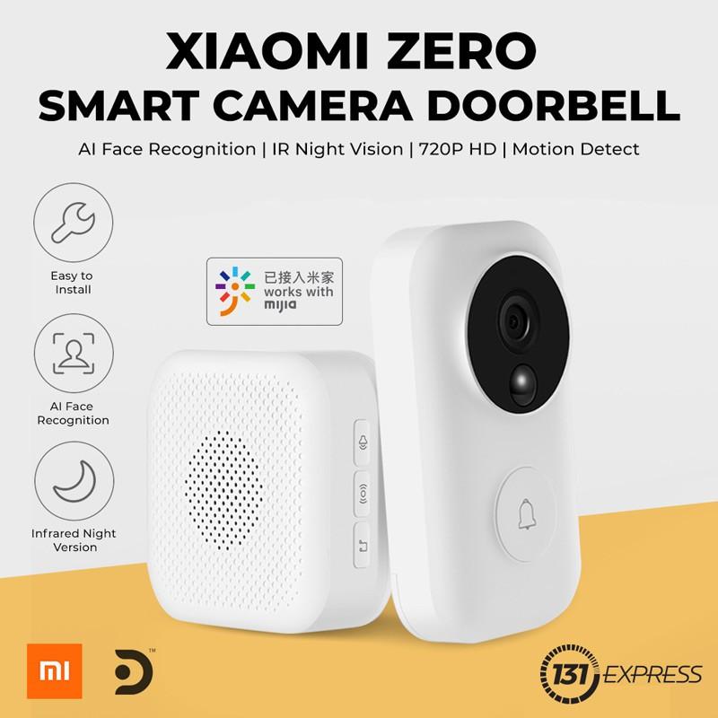 עינית ופעמון הדלת החכם החדש – Xiaomi Zero AI