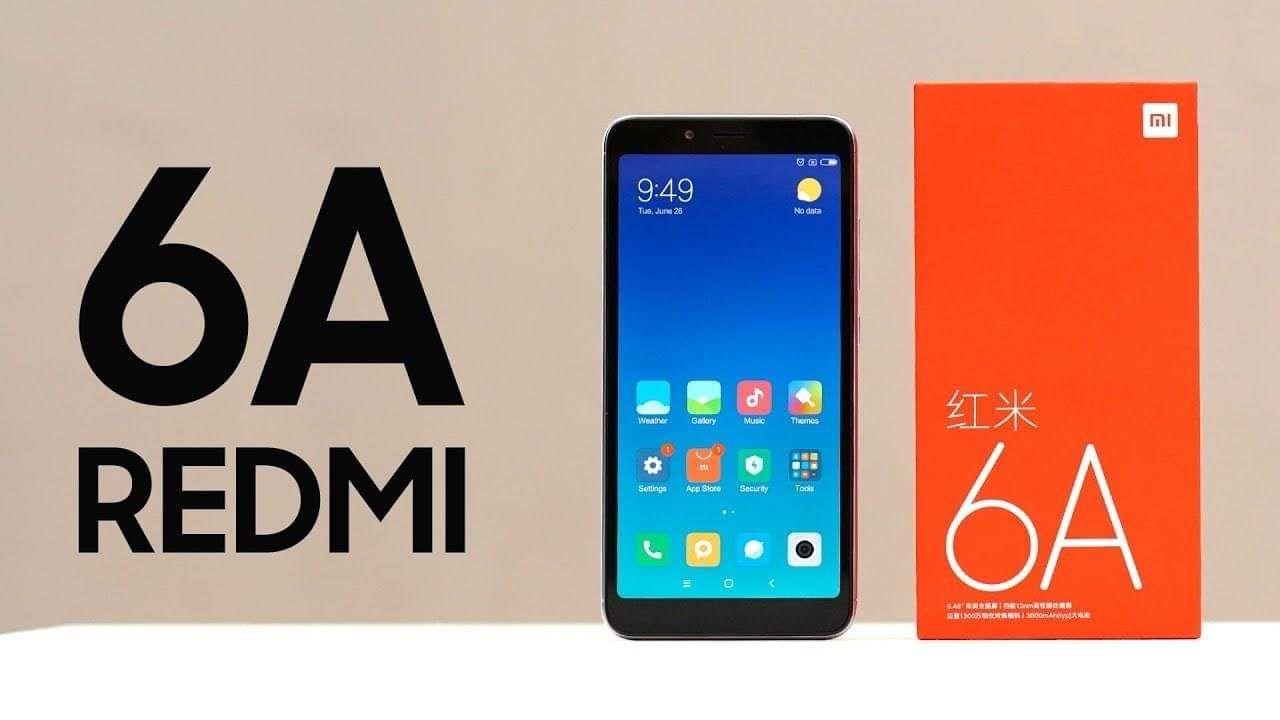 טלפון חכם Xiaomi Redmi 6A מתחת לרף המס