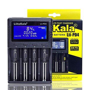 מטען סוללות איכותי ומהיר – Liitokala Lii-PD4