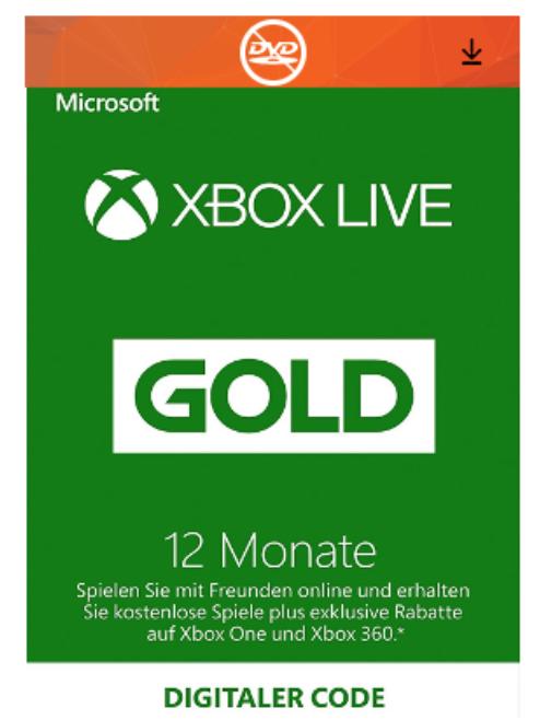 Xbox Live Gold Membership – מנוי למשך 12 חודשים במחיר מיוחד!
