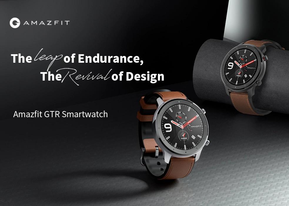 שווה! השעון החכם החדש של שיאומי  ה AMAZFIT GTR במחיר הזול בעולם!