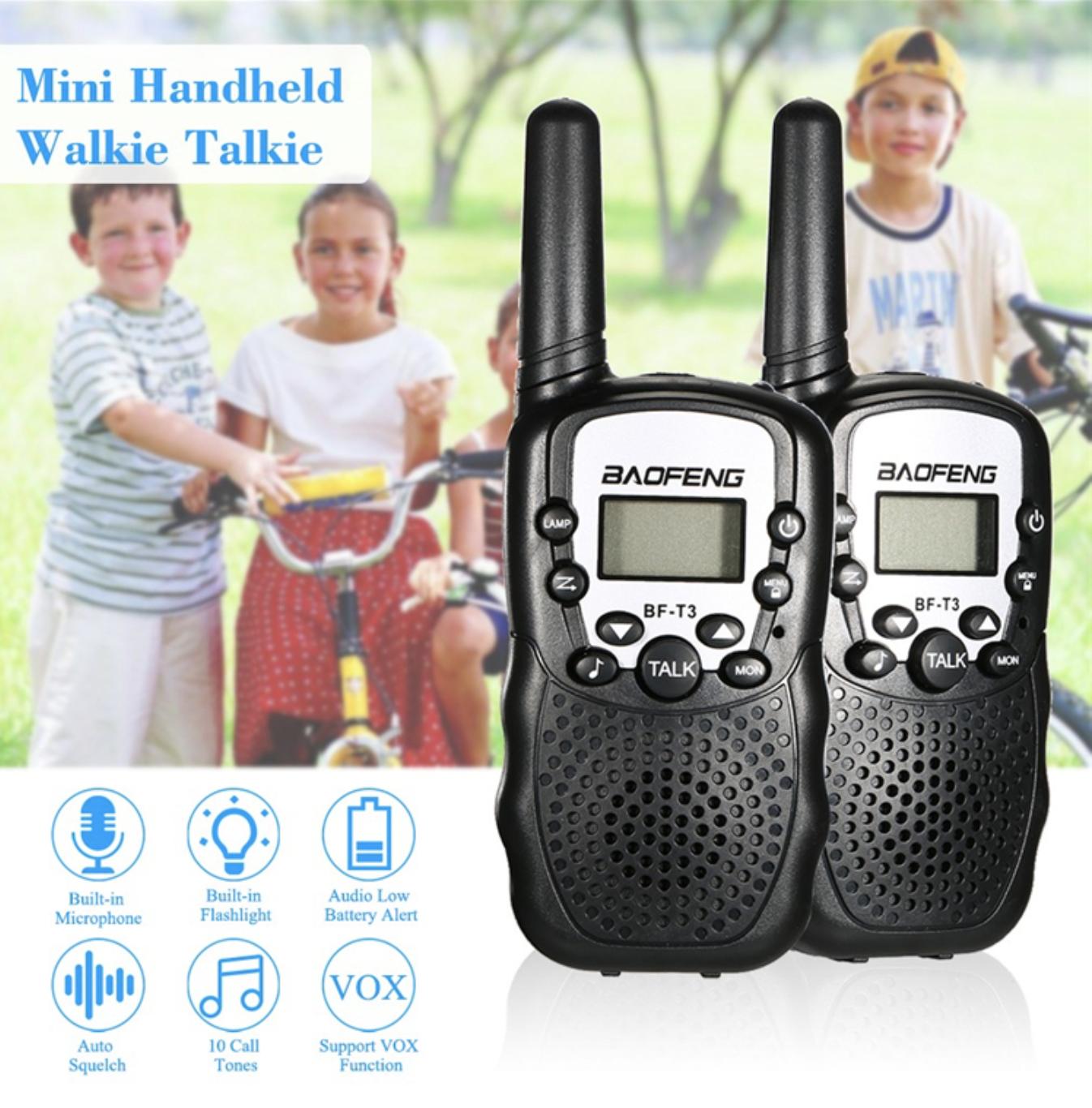 """Baofeng BF-T3 -זוג מכשירי קשר """"ווקי טקי"""" מומלץ לילדים במחיר נהדר!"""