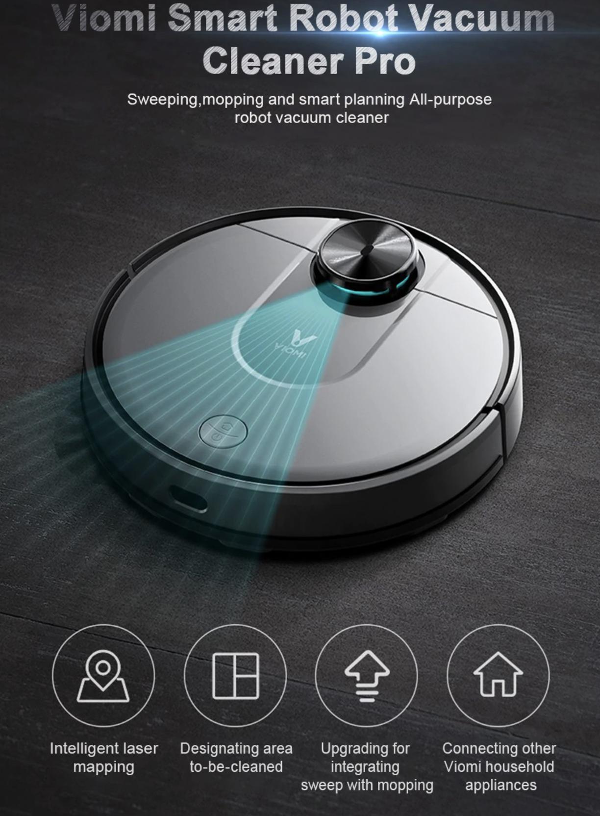 שואב האבק הרובוטי השוטף החדש, הViomi V2 ממשפחת שיאומי במחיר נהדר!