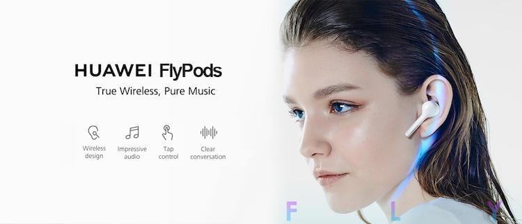 אוזניות האוזניות Huawei Honor  FlyPods במחיר נהדר!