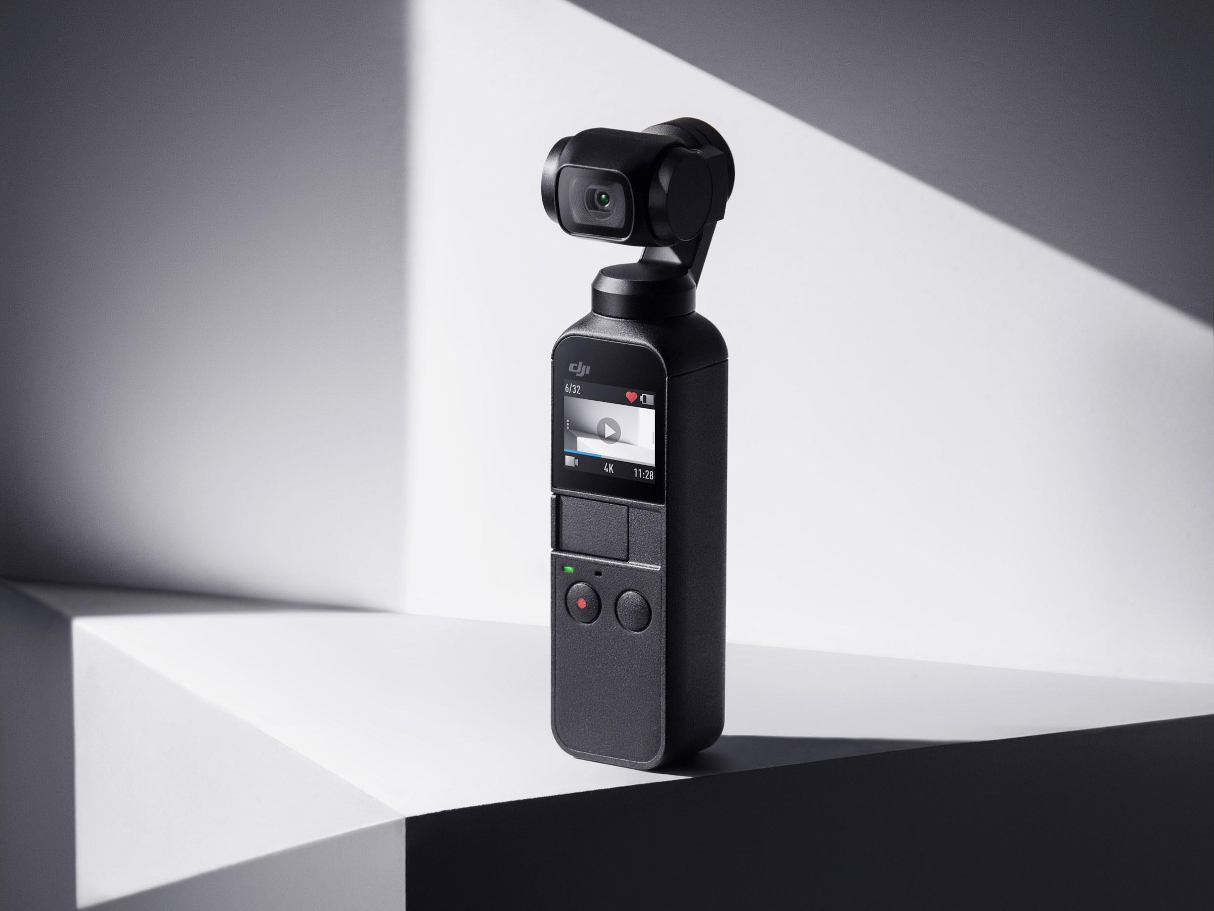 אל תקראו לה מצלמת אקסטרים!המייצב למצלמה (גימבל) DJI Osmo Pocket  משולב מצלמה