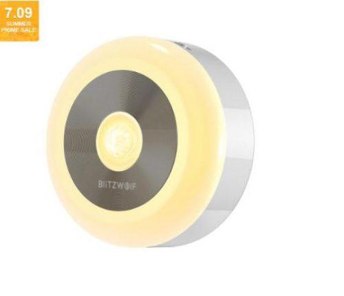 מנורת לילה + חיישן תנועה מבית BlitzWolf  במחיר רצפה!