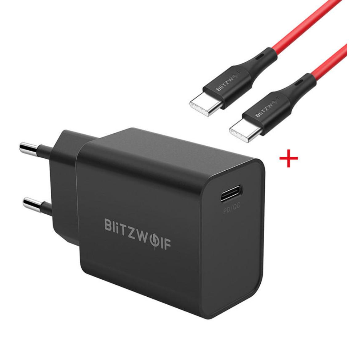 BlitzWolf® BW-S12  המטען החדש עם טעינה מהירה QC4