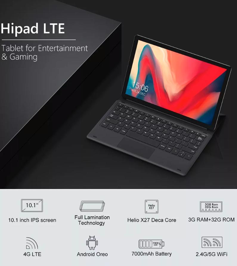 הטאבלט המשתלם ביותר במחיר נמוך CHUWI HiPad