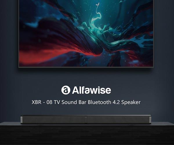 Alfawise XBR סאונד בר כולל חיבוריות Bluetooth  ושלט