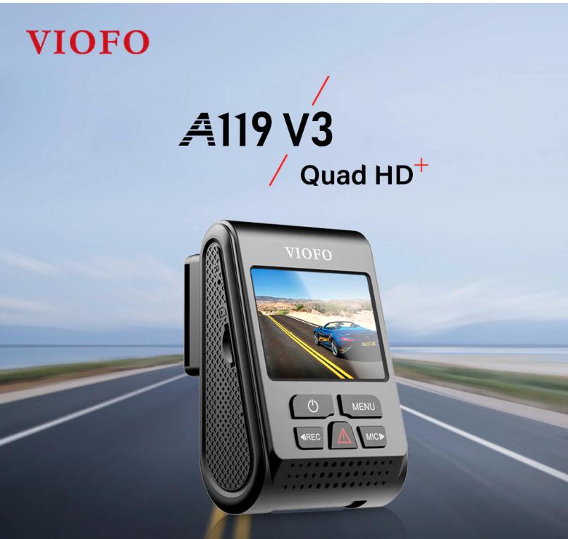 מצלמת הרכב המומלצת מקבלת שדרוג –  Viofo A119 V3 !!