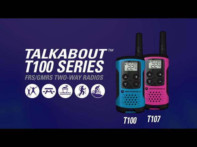 מכשירי הקשר Motorola T100/107 של מוטורולה במחיר שחיטה!
