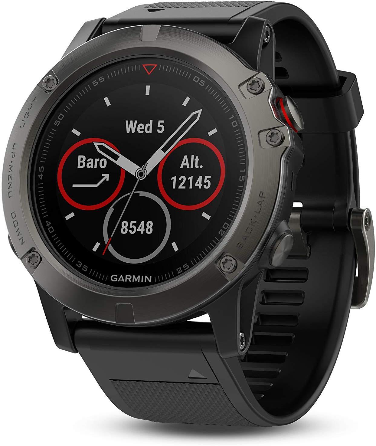 שעון ספורט יוקרתי garmin fenix 5X