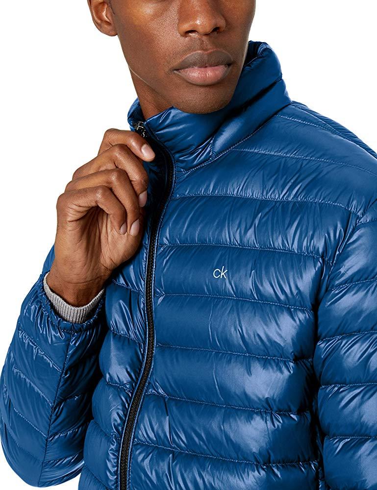 מעיל פוך לגברים Calvin Klein Classic Packable Down במחיר מדהים!