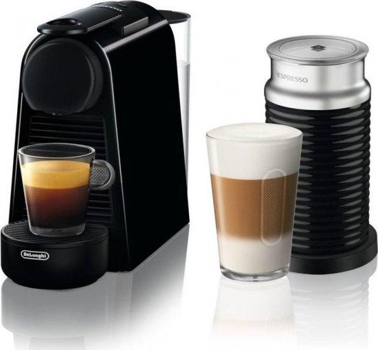 מכונת קפה של נספרסו מדגם Essenza Mini + מקציף
