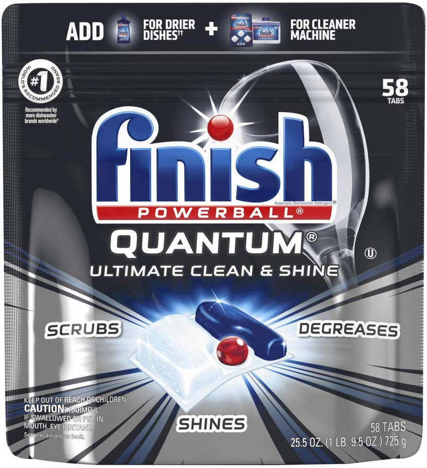 דיל משוגע! חבילות Finish Quantum טבליות למדיח במחיר מעולה!