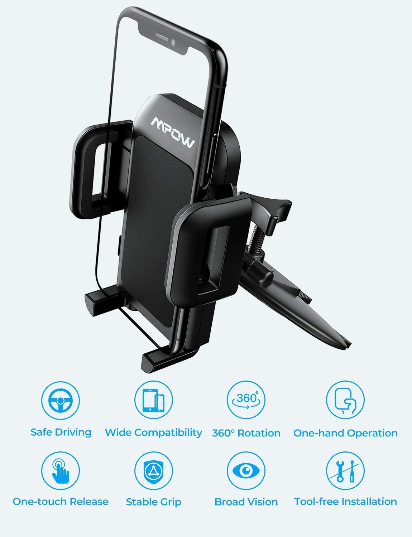 מעמד סלולאר לרכב Mpow 051  במחיר מציאה!