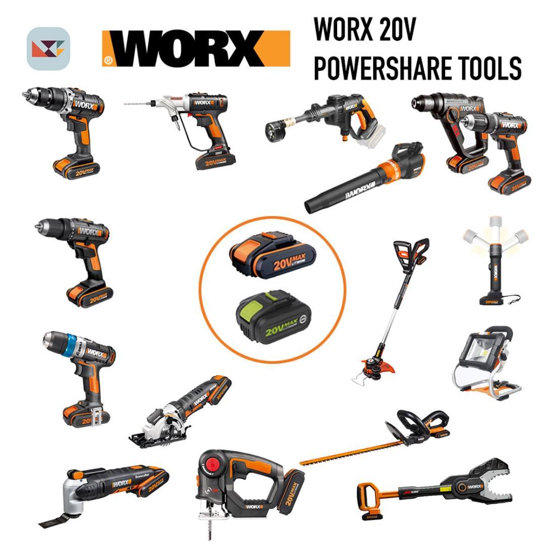 כלי העבודה החשמליים של WORX בכפל קופונים בדיל בלעדי! מחירי סין אמיתיים!