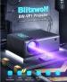רב מכר! Blitzwolf BW-VP1 – מקרן קומפקטי איכותי מתחת לרף המס!