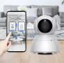 מצלמת אבטחה ומוניטור Xiaovv Q8 HD 1080P 360° מבית שיאומי