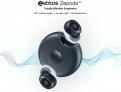 Zeblaze Zepods אוזניות בלוטות' ללא חוט, בעלות עיצוב לביטול רעשים מהסביבה.