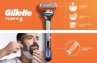 מכשיר גילוח לגבר Gillette Fusion5 – ידית ו4 ראשי סכינים במחיר מדהים!