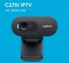 רק למחשב שלכם אין זום? מצלמת רשת Logitech C270i HD 720p במחיר נהדר!