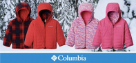 מעיל דו צדדי מפנק לילדים Columbia Youth Double Trouble  במחיר נהדר