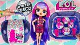 מזוודה עם 60 הפתעות L.O.L. Surprise! Winter Disco