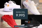 נעלי הסניקרס Xiaomi Lycra במחיר הזייה