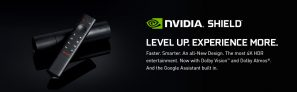 הסטרימר ומכונת הגיימינג של NVIDIA מדגם Shield TV 2019