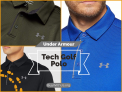 חולצת הפולו הספורטיבית ואיכותית Under Armour Tech Golf Polo