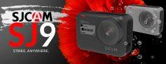 מצלמת האקשן החדשה SJCAM SJ9 Strike במחיר מצויין