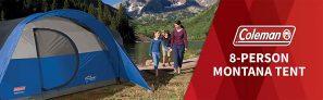 אוהל משפחתי ל-8 אנשים Coleman Montana 8 קולמן