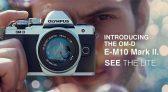 מצלמה ללא מראה Olympus OM-D E-M10 Mark II אולימפוס עם עדשה 14-42 ועדשה 40-150